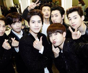 Super Junior M, donghae, and henry image