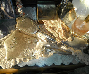 lace, luxurious, and mirror image