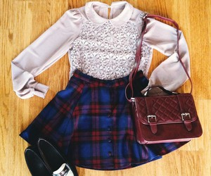 accessories, college, and fashion image