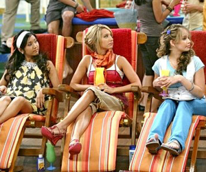 ashley tisdale, brenda song, and suite life on deck image