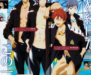 anime, free eternal summer, and yamazaki sousuke image
