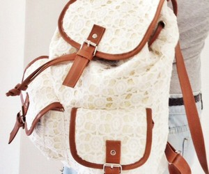 backpack, fashion, and girly image