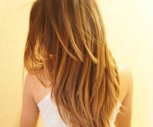 Chica, cabello, and hair image