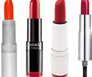 make up, red, and batom image
