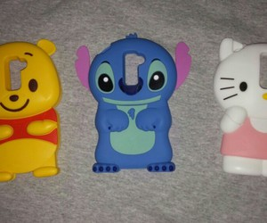 hello kitty, stitch, and winnie the pooh image