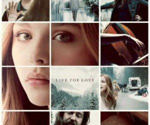 if i stay, book, and movie image