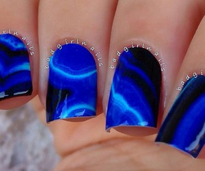 black, blue, and designs image