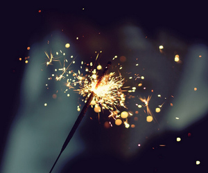 light and sparkler image