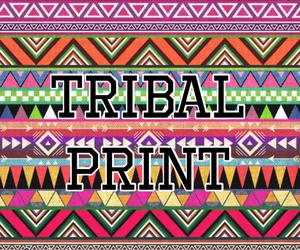 tribal print and littlethingsaboutme image