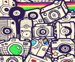 camera, wallpaper, and colors image