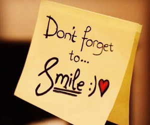 smile, quotes, and heart image