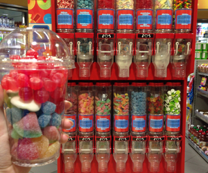 candy, gas station, and good image