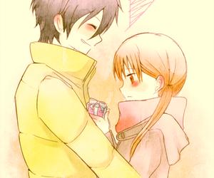 anime, tonari no kaibutsu-kun, and love image