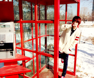 asian, red, and park hyung seok image