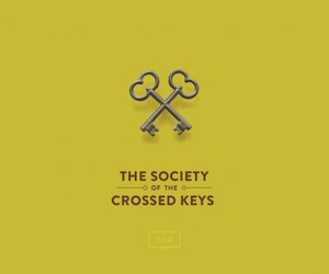 wes anderson, grand budapest hotel, and crossed keys society image