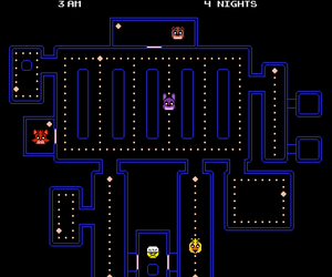 pacman and five nights at freddy's image