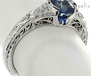 ring and sapphire image