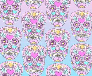 skull, background, and wallpaper image