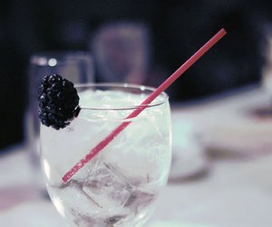 blackberry, summer, and drink image