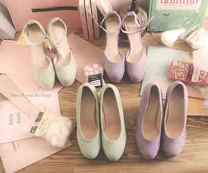 shoes, pastel, and vintage image