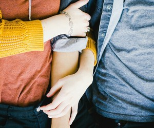 boyfriend, stay, and couple image