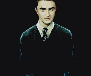harry potter, daniel radcliffe, and slytherin image