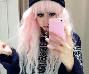 pastel goth, hair, and kawaii image