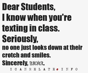 teacher, funny, and school image