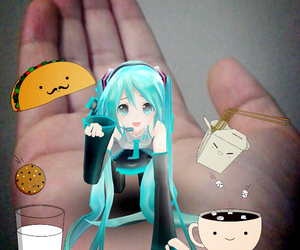 japanese girl, vocaloid, and i love music image