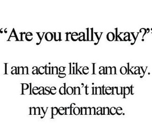 quote, okay, and performance image