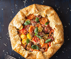 cheese, galette, and parmesan image