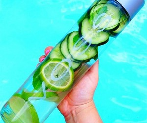 healthy, water, and voss image