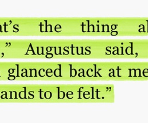 quote, the fault in our stars, and pain image