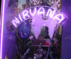 nirvana, purple, and grunge image