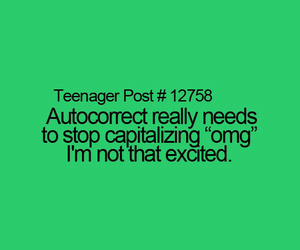excited, texts, and autocorrect image