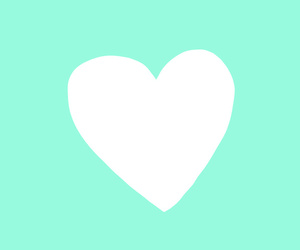 green, mint, and heart image