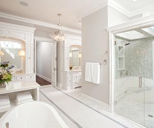 luxury, bathroom, and classy image