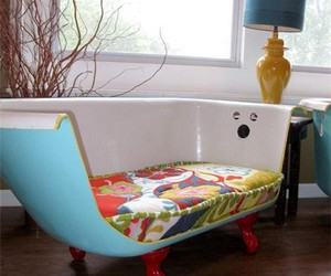 diy, bath, and couch image
