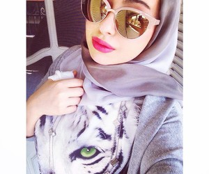 arab, fashion, and hijab image