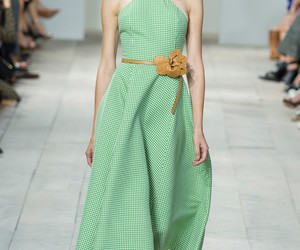 gingham, Michael Kors, and spring 2015 rtw image