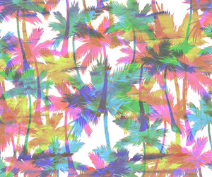 wallpaper, palm trees, and trees image