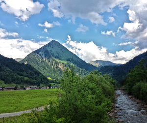 austria, clouds, and nature image