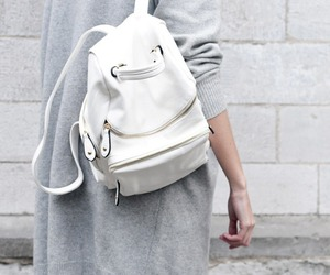 fashion, white, and bag image