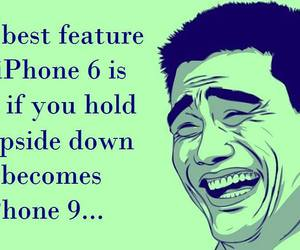 apple, feature, and funny image