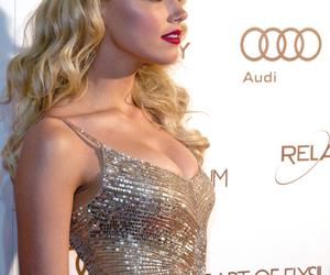 amber heard, dress, and model image