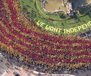 catalonia and independence image
