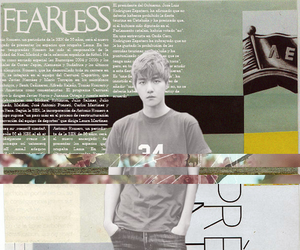 exo, fearless, and graphic image