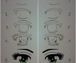 eyes, drawing, and draw image