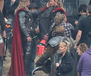 thor, funny, and handsome image