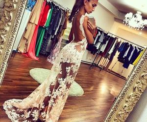 dress, moreni, and summer image